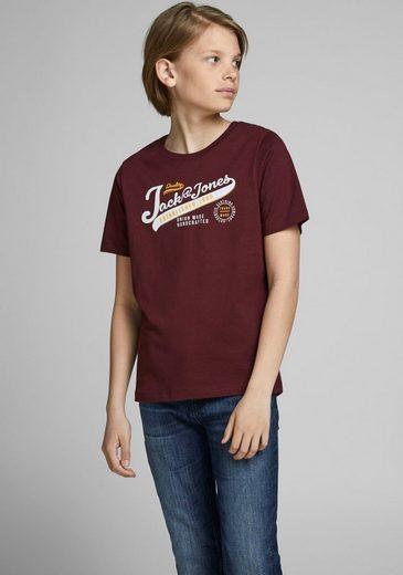 Jack & Jones Junior T-Shirt »JJELOGO TEE SS O-NECK«