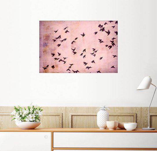 Posterlounge Wandbild, In den Süden fliegen