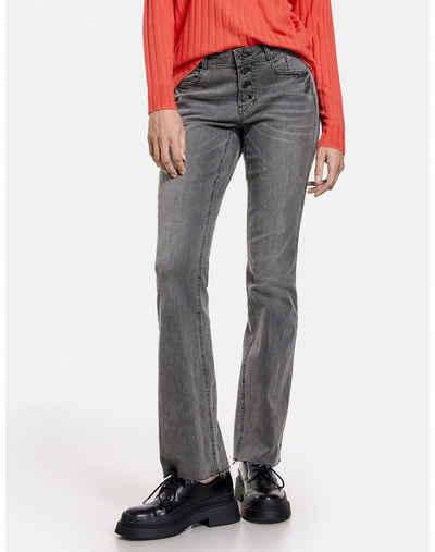 Taifun Stretch-Jeans »Jeans Flared TS« (1-tlg) Schlaghosen