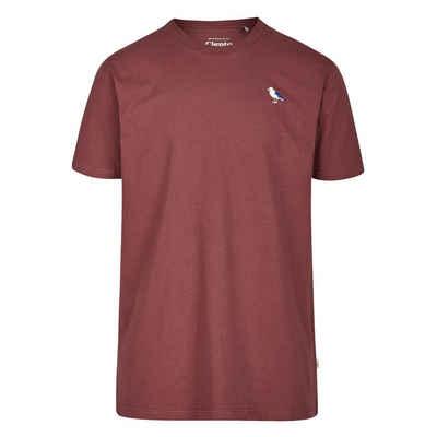 Cleptomanicx T-Shirt »Embro Gull« kleine Stickerei