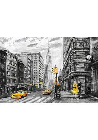 queence Paveikslas ant drobės »New York«