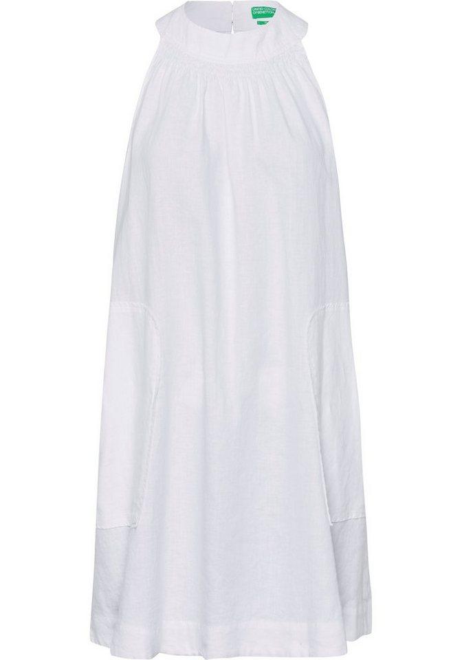 united colors of benetton -  Sommerkleid aus Leinen