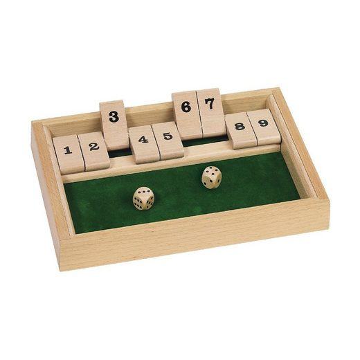 goki Spiel, »Würfelspiel Shut the box«