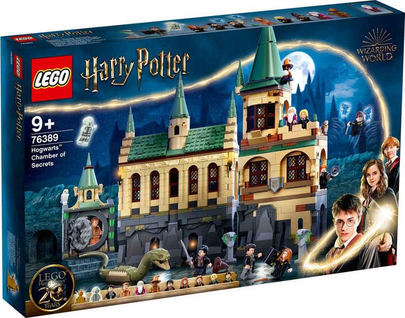LEGO® Konstruktionsspielsteine »Hogwarts™ Kammer des Schreckens (76389), LEGO® Harry Potter™«, (1176 St)