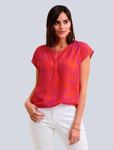 Alba Moda Blusenshirt im floralen Print allover