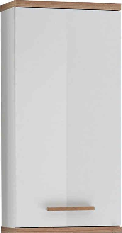 PELIPAL Hängeschrank »Quickset 923« Breite 35,5 cm, Holzgriff, Türdämpfer, Glaseinlegeböden