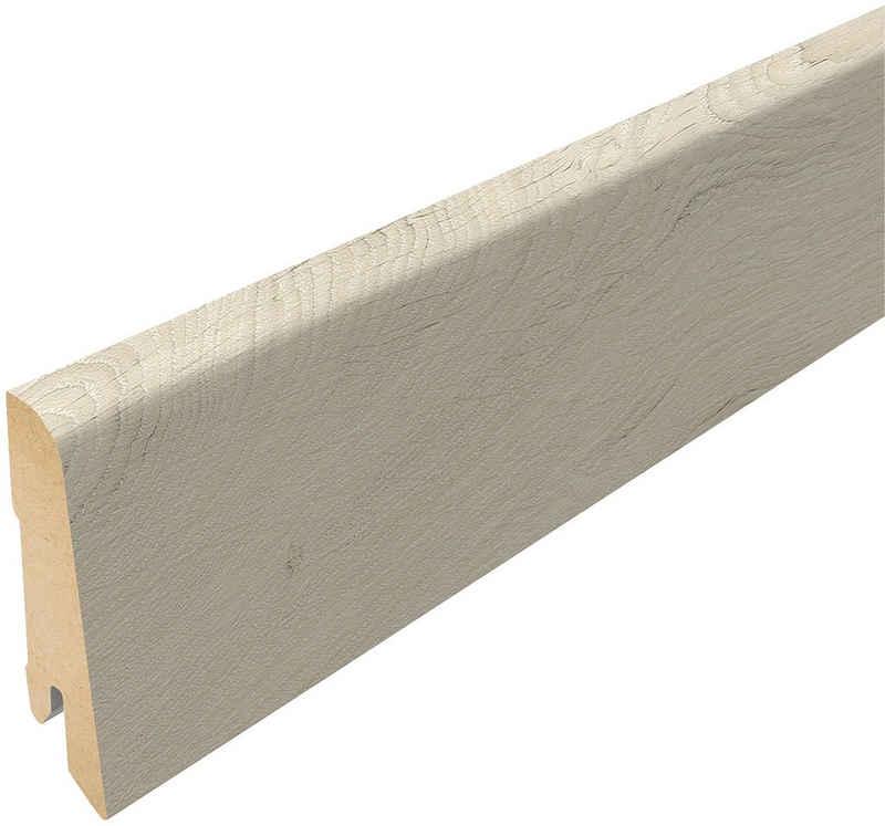 EGGER Sockelleiste »L387 - Kurimo Eiche, Summersville Eiche weiss«, L: 240 cm, H: 6 cm