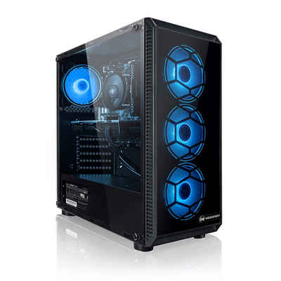 Megaport PC (AMD Ryzen 3 3200GE 4x 3.30GHz, AMD Vega 8 integriert, 8 GB RAM, 1000 GB HDD, 120 GB SSD, ohne Betriebssystem)