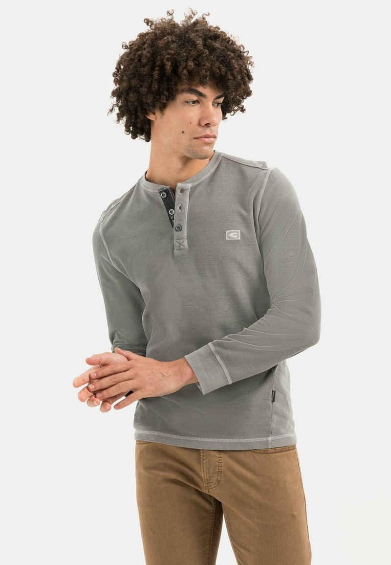 camel active Sweatshirt »Sweatshirt aus Organic Cotton«