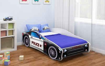 Baidani Kinderbett »CAR«, verschiedene Motive zur Auswahl!