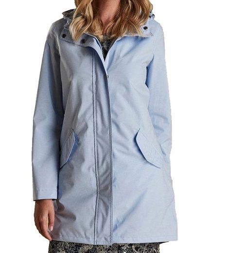 Barbour Outdoorjacke »Barbour Seaglow Jacke wasserabweisender Damen Frühlings-Mantel Übergangs-Jacke Hellblau«