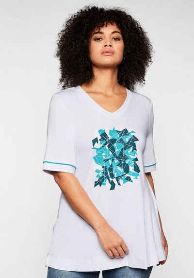 Sheego T-Shirt aus nachhaltiger Viskose