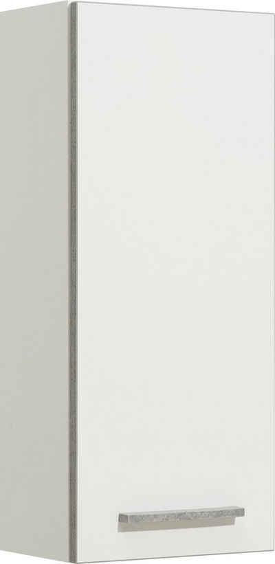 PELIPAL Hängeschrank »Quickset 953« Breite 30 cm, 2 Einlegeböden, Absetzung in Beton-Optik