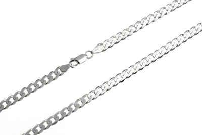Silberkettenstore Silberkette »Panzerkette 5mm breit«, wählbar von 38-100cm