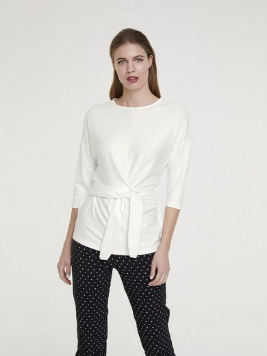 heine TIMELESS Shirt mit Bindeband