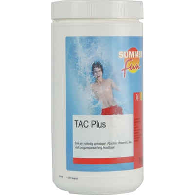 SUMMER FUN Poolroboter »Summer Fun Tac Plus Granulat Alkalinit?t Heber pH Alkalit?t Erh?hung 1/5kg«