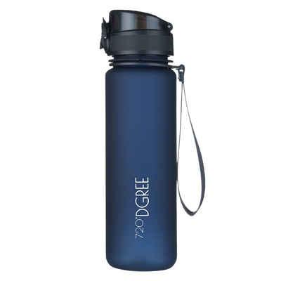 720°DGREE Trinkflasche »uberBottle«, Trinkflasche, Wasserflasche, 500ml, Auslaufsicher, Sportflasche, für Schule, Sport, Fahrrad, Outdoor, Wandern, mit Früchtesieb