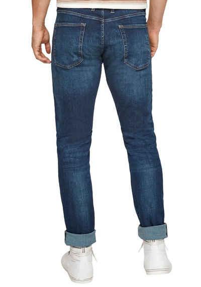 s.Oliver 5-Pocket-Jeans mit leichten Abriebeffekten