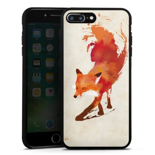 DeinDesign Handyhülle »Vulpes Vulpes« Apple iPhone 8 Plus, Hülle Fuchs Graphic