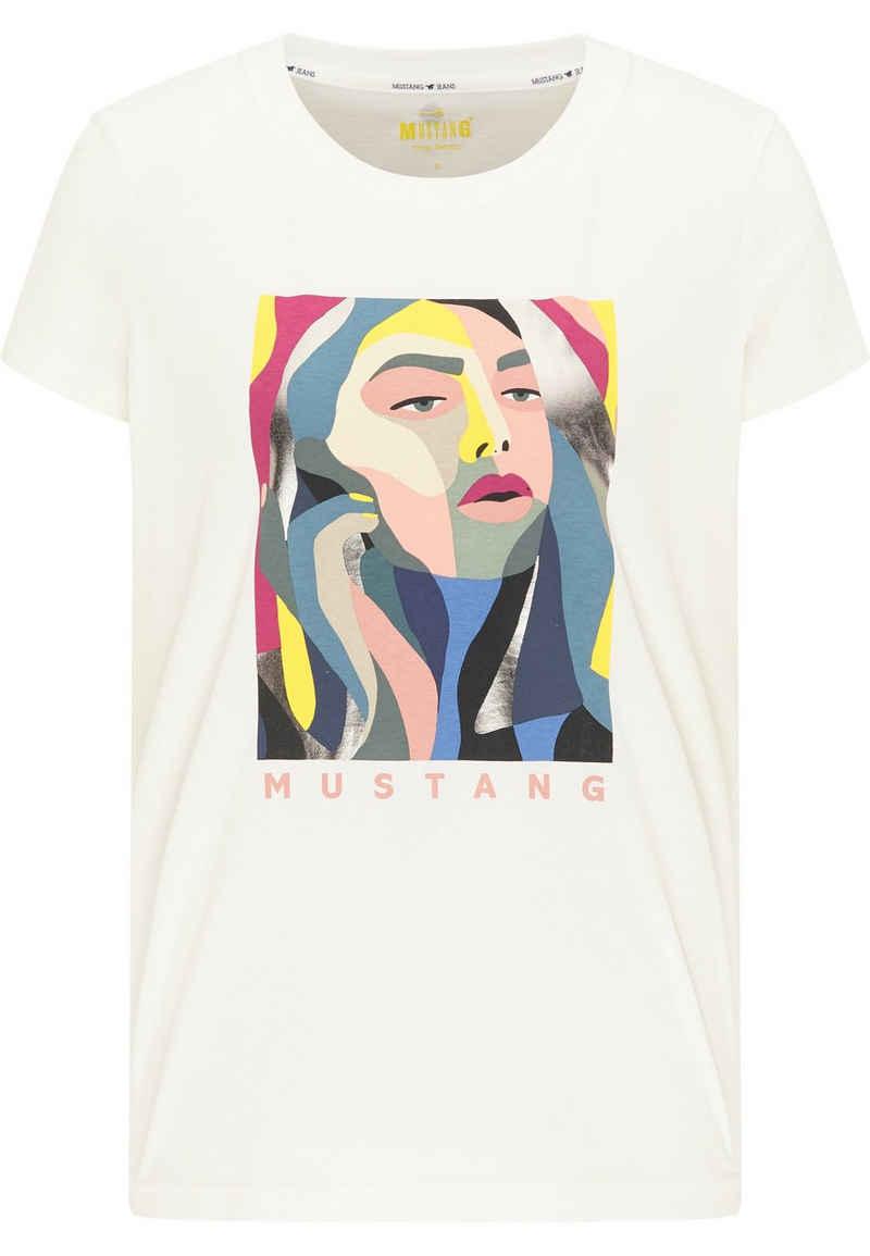 MUSTANG T-Shirt »Alexia C Print« kurzarm