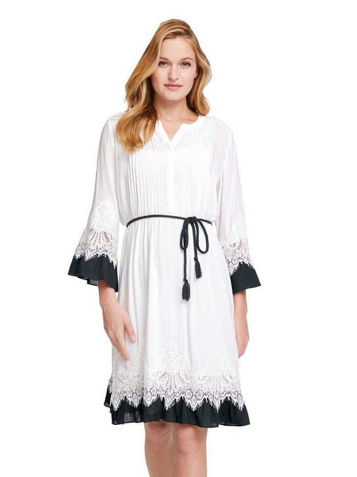Festtagsmode - LINEA TESINI by Heine Spitzenkleid »Spitzen Kleid« ›  - Onlineshop OTTO