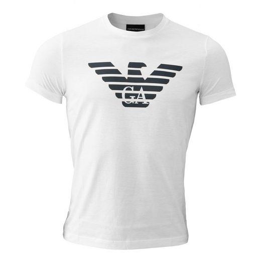 Emporio Armani T-Shirt »8N1T99« Logodruck
