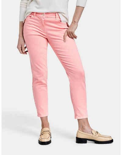 B.C Best Connections Pantalon Cargo-Pantalon Femmes le Stretch-Pantalon kurzgröße Rose