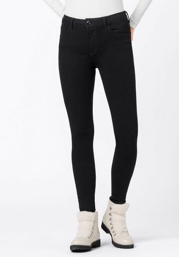 HALLHUBER Slim-fit-Jeans »Waist Skinny ELLA Stay Black«