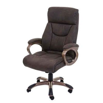 MCW Schreibtischstuhl »Denver«, Stufenlos höhenverstellbare Gasdruckfeder, Verstärkt gepolsterte Nacken-/ Kopfstütze