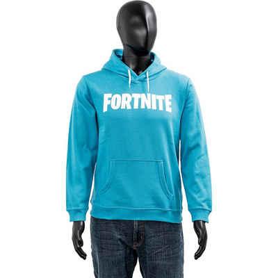 Fortnite Sweatshirt »Hoodie Kids Logo Cyan 176cm«