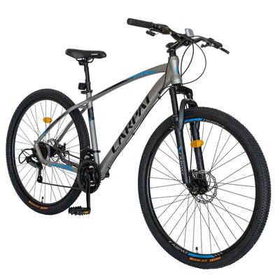 CARPAT Mountainbike »29 Zoll Mountainbike Herren-Fahrrad«, 21 Gang Shimano Tourney TY-300 Schaltwerk, Kettenschaltung, (mit Aluminium-Rahmen), mit mechanisches Scheibenbremssystem