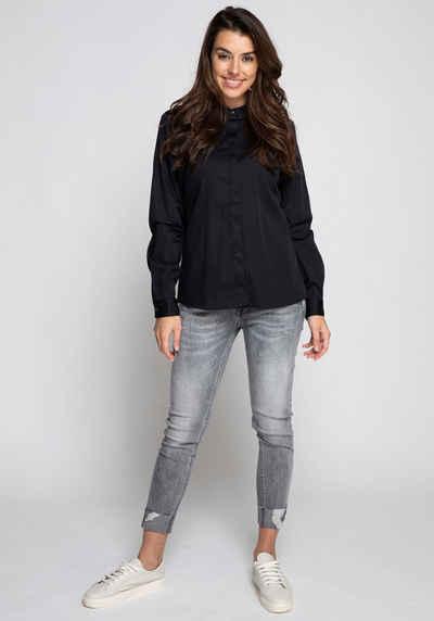 Zhrill Klassische Bluse »RESI« hinten länger geschnitten, leicht oversized