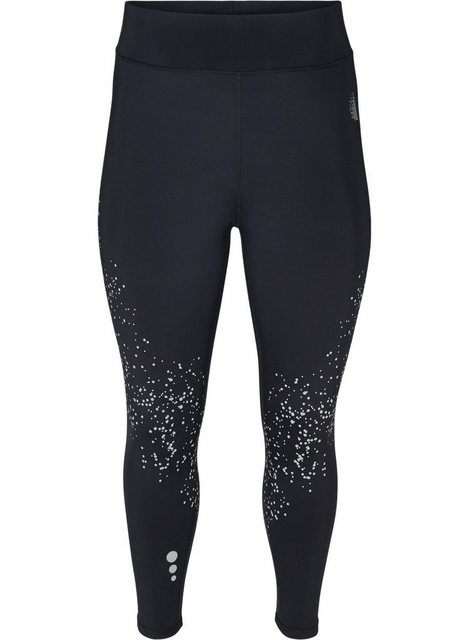 Hosen - Active by ZIZZI Trainingstights Große Größen Damen Trainingsleggings mit 7 8 Länge und Reflektoren ›  - Onlineshop OTTO