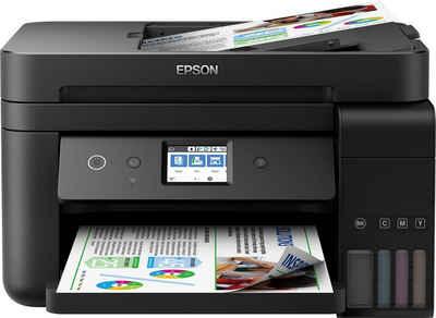 Epson EcoTank ET-4750 WLAN-Drucker, (WLAN (Wi-Fi)