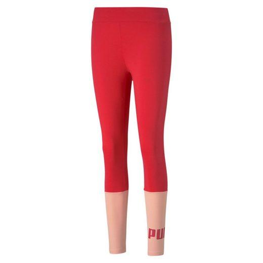 PUMA Leggings »Essentials+ Colourblock Damen Leggings«