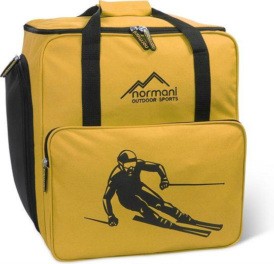 normani Sporttasche »Skitasche 53 l Alpine Depo«, Skischuhtasche mit separatem Helmfach und Rucksackfunktion - Rollschuhtasche oder Snowboardschuhtasche