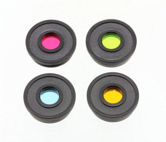 """BRESSER Farbfilter Set »Essential für Teleskope 1,25"""" rot, grün, blau, gel«"""
