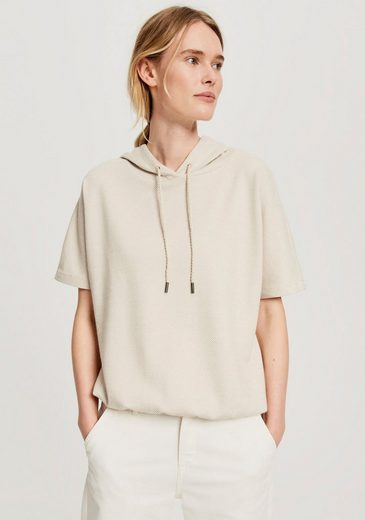 OPUS Kapuzensweatshirt »Gulvas« mit überschnittenen Ärmeln