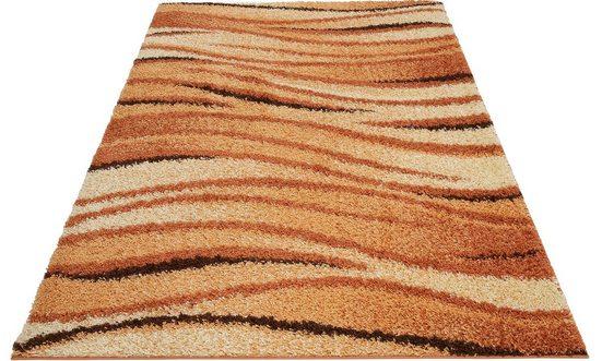 Hochflor-Teppich »Jamie«, my home, rechteckig, Höhe 30 mm, weiche Haptik
