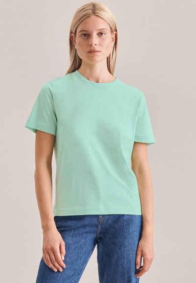 seidensticker T-Shirt Kurzarm Rundhals Uni