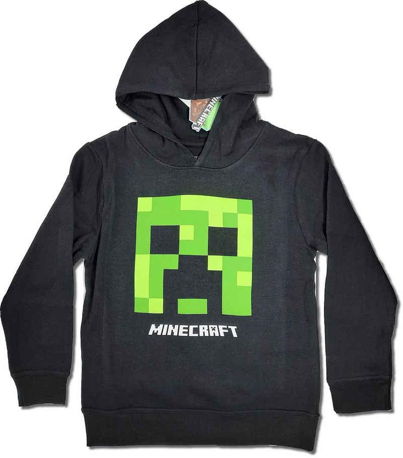 Minecraft Hoodie »Minecraft Jungen Creeper Hoodie Kapazenpullover«