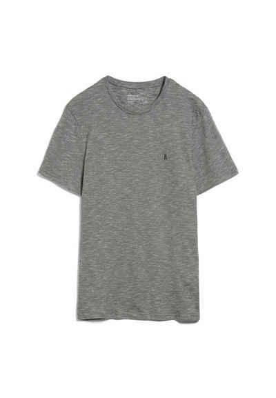 Armedangels T-Shirt »JAAMES STRUCTURE Herren T-Shirt aus Bio-Baumwolle« (1-tlg)