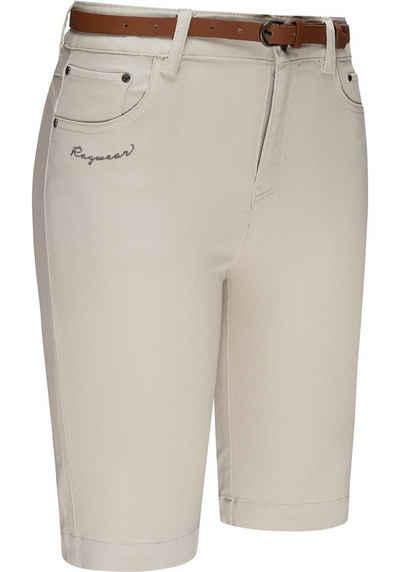 Ragwear Chinoshorts »Bobiny« kurze Sommerhose mit stylischem Gürtel