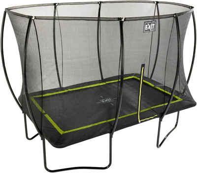 EXIT Gartentrampolin »Silhouette«, BxT: 214x305 cm, mit Sicherheitsnetz