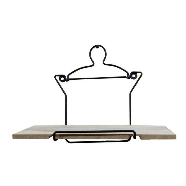 Küchenregale - HTI Line Wandregal »Wandboard Topf Viola«, Wandboard  - Onlineshop OTTO