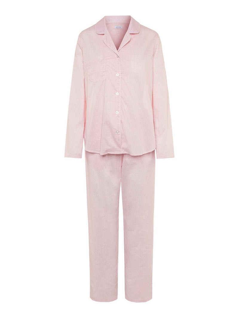 seidensticker Pyjama »Langarm 'Minimals'« (1 tlg)