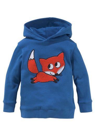 Arizona Kapuzensweatshirt »FUCHS« Applikation