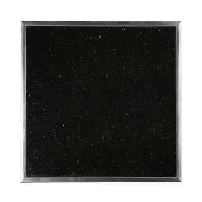 kuechenkonsum Arbeitsplatte »Einbau Granitfeld inkl. Edelstahlwanne 250 x 250 x 10 mm«, robuster Galaxy Star Granitstein