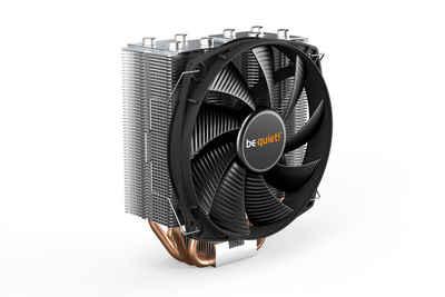 be quiet! CPU Kühler »Shadow Rock Slim 2«, BK032, sehr hohe Kühlleistung von 160W TDP, leiser Betrieb, 4-pin PWM, hochleistungsfähige 6mm-Heatpipes mit HDT-Technologie, Geräuschoptimierter 135mm be quiet! Lüfter (max. 23,7dB(A)