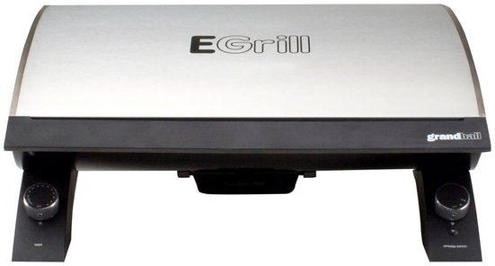 GrandHall Tischgrill Elektrogrill, 1500 W, BxTxH: 55x34x22 cm